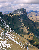 Mount Gould 9,553 ft (2,912 m)  from Piegan Mountain Summit, Glacier National Park Montana USA