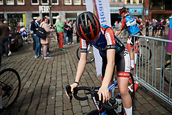 WNT Pro Cycling sign on at Healthy Ageing Tour 2018 - Stage 5, a 94.3 km road race in Groningen on April 8, 2018. Photo by Sean Robinson/Velofocus.com