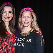 NLD/Amsterdam/20141217 - Musical Awards Nominatielunch 2015, Renee van Wegberg en Lynn Janssen