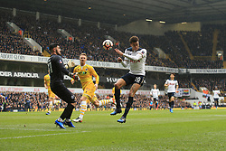 12 March 2017 - The FA Cup - (Sixth Round) - Tottenham Hotspur v Millwall - Dele Alli of Tottenham Hotspur with a headed effort - Photo: Marc Atkins / Offside.