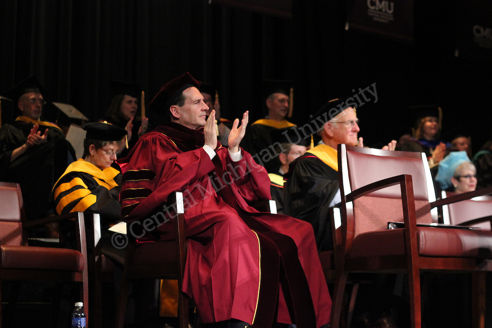 The Doctoral commencement on Friday May 9, 2014 in Plachta Auditorium.