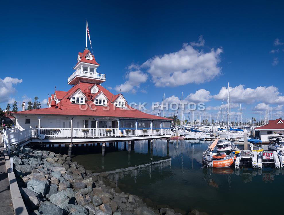 Bluewater Boathouse in Glorietta Bay San Diego