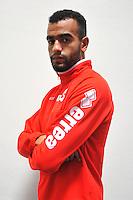Abdel Hakim OMRANI - 16.09.2014 - Photo officielle Nimes - Ligue 2 2014/2015<br /> Photo : Icon Sport