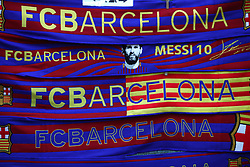 A general view of Barcelona merchandise for sale