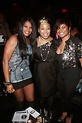 "l to r: Sandra ""Pep"" Denton, Demetria Lucas, and Kali "" Kittie "" Troy at the Celebration for the Finale episode of the VH1 hit reality show ' Let's talk about Pep held at the Comix Club on March 1, 2010 in New York City."
