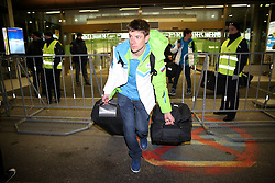Janez Maric at reception of Slovenia team arrived from Winter Olympic Games Sochi 2014 on February 24, 2014 at Airport Joze Pucnik, Brnik, Slovenia. Photo by Vid Ponikvar / Sportida