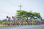 Tour of Thailand 2015/ Stage2/ Buri Ram - Roi-Et/ Bridgestone Anchor