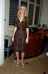 POPPY DELEVINGNE at Reach 4 Fashion 2005 in aid of the REACH Leukaemia Appeal hosted by designers Sadie Frost and Jemima French of fashion label FrostFrench held at 88 St.James' Street, London SW1 on 8th November 2005.<br />