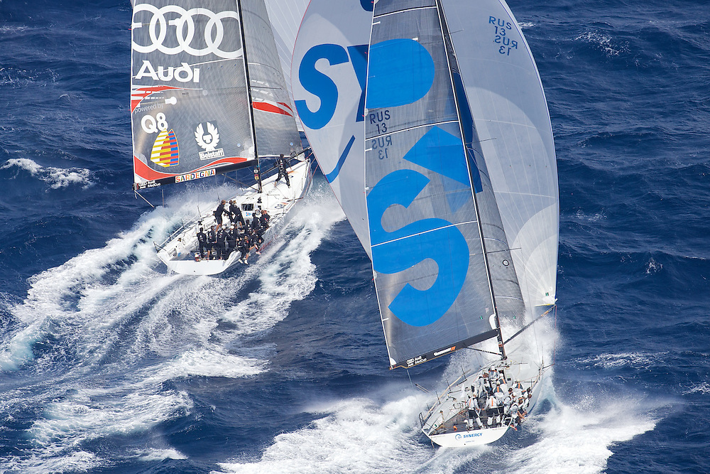 SPAIN, Cartagena, AUDI MedCup, 17th Sept 2009,  Caja Mediterraneo Region of Murcia Trophy, TP52, Synergy and Audi TP52 Powered by Q8