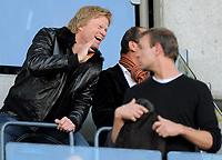 Fotball<br /> Tyskland<br /> Foto: Witters/Digitalsport<br /> NORWAY ONLY<br /> <br /> 18.10.2008<br /> <br /> Oliver Kahn als Zuschauer<br /> <br /> Bundesliga Karlsruher SC - Bayern München