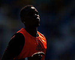 General view of Paul Pogba of Manchester United - Mandatory by-line: Jack Phillips/JMP - 21/04/2019 - FOOTBALL - Goodison Park - Liverpool, England - Everton v Manchester United - English Premier League