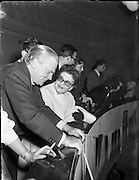 Jimmy Cagney at Gael Linn Ceili.26/10/1958