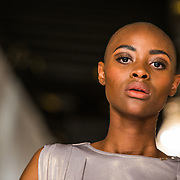 NLD/Amsterdam/20140615 - Opname aflevering Holland Next Top Model 2014, Aisha Kazumba