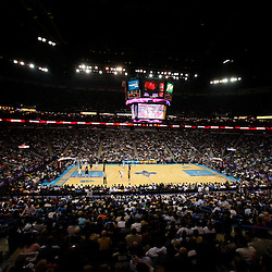 Mar 24, 2010; New Orleans, LA, USA; A general view from inside the New Orleans Arena during a basketball game between the Cleveland Cavaliers and the New Orleans Hornets. The Cavaliers defeated the Hornets 105-92. Mandatory Credit: Derick E. Hingle-US PRESSWIRE