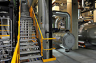 14/10/11 - DUNIERES - HAUTE LOIRE - FRANCE - Scierie MOULIN. Centrale thermique a bois - Photo Jerome CHABANNE