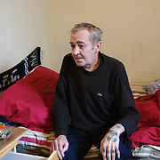 Dave is waiting for a bedsit to move into. He is now thinking he will pass away in the hostel as he is very ill. Dave,June.