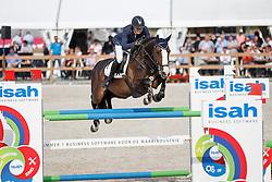 Klompmaker Hester, (NED), Denolia<br /> Isah Cup 7 Jarige springpaarden <br /> KWPN Kampioenschappen Ermelo 2015<br /> © Hippo Foto - Dirk Caremans