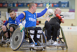 Germany V Finland at the 2016 IWRF Rio Qualifiers, Paris, France