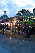 2009 Serpentine Gallery Summer party. Sponsored by Canvas TV. Serpentine Gallery Pavilion designed by Kazuyo Sejima and Ryue Nishizawa of SANAA. Kensington Gdns. London. 9 July 2009.