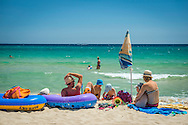 Costa Rei, Sardinia, Italy, June 2015. Costa Rei is located on the south coast of Sardinia about 50km from Cagliari. The coastline is renowned for its crystal clear water, golden sands and long beaches. Photo by Frits Meyst / MeystPhoto.com