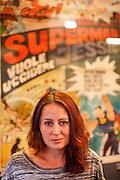 Schriftstellerin und Stipendiatin des Prager Literaturhaus Isabella Feimer in Prag. Nutzung NUR fuer das Literaturhaus Prag oder nach individueller Absprache !!!