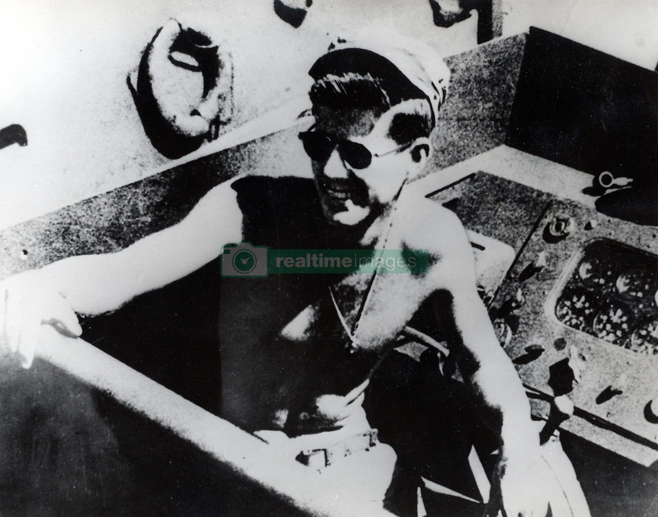 John F. Kennedy, the nation's 35th President, would have turned 100 years old on May 29, 2017. With the centennial anniversary of John F. Kennedy's birth, the former president's legacy is being celebrated across the nation. PICTURED: Jan. 1, 1943 - Panama City, Panama - Born into a rich, politically connected Boston family JOHN F. KENNEDY was the youngest person elected U.S. President and the first Roman Catholic to serve. The promise of this energetic  leader was not to be fulfilled, as he was assassinated near the end of his third year in office. PICTURED: JOHN F. KENNEDY in service on the Pacific Ocean as naval officer. (Credit Image: © Keystone Press Agency/Keystone USA via ZUMAPRESS.com)