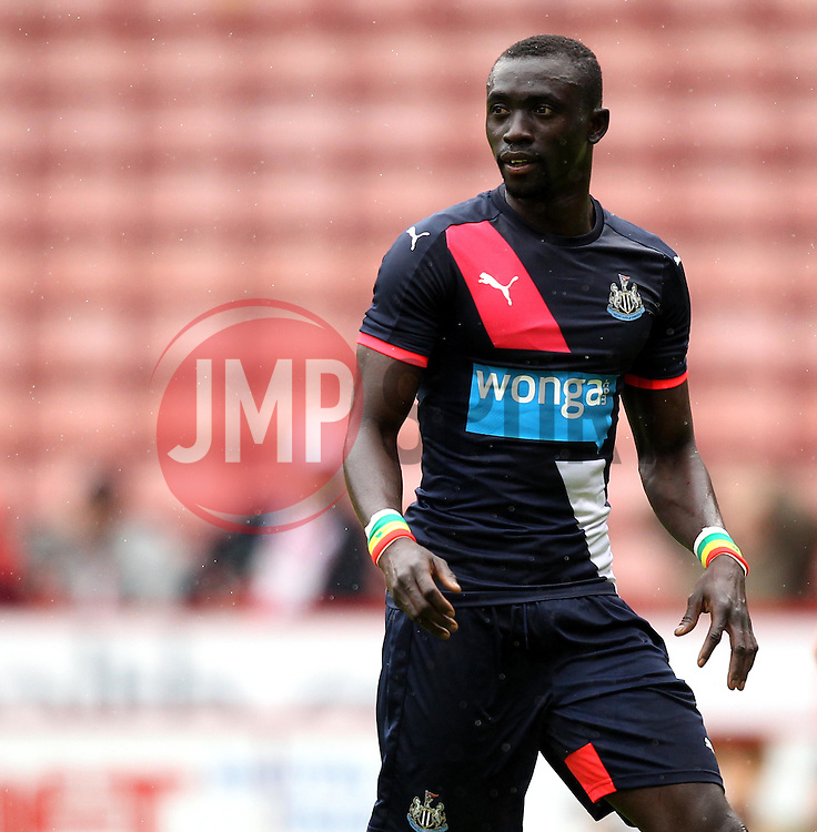 Newcastle United's Papiss Cisse - Mandatory by-line: Robbie Stephenson/JMP - 26/07/2015 - SPORT - FOOTBALL - Sheffield,England - Bramall Lane - Sheffield United v Newcastle United - Pre-Season Friendly