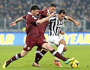 © Filippo Alfero<br /> Juventus-Torino, Serie A 2013/2014<br /> Torino, 23/02/2014<br /> sport calcio<br /> Nella foto: