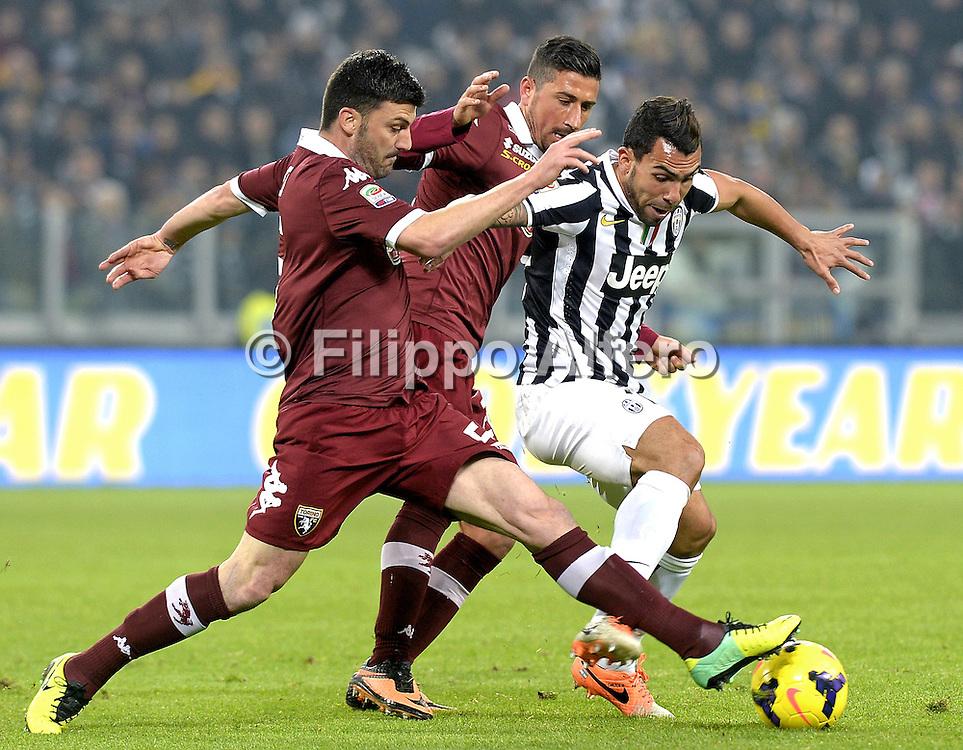 &copy; Filippo Alfero<br /> Juventus-Torino, Serie A 2013/2014<br /> Torino, 23/02/2014<br /> sport calcio<br /> Nella foto: