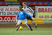 Kyle Clark - Rangers v Dundee in the SPFL Development League at Forthbank, Stirling. Photo: David Young<br /> <br />  - © David Young - www.davidyoungphoto.co.uk - email: davidyoungphoto@gmail.com