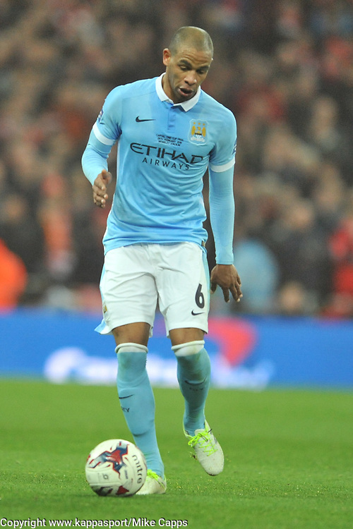 FERNANDO MANCHESTER CITY, Liverpool FC v Manchester City FC Capital One Cup Final, Wembley Stadium, Sunday 28th Febuary 2016