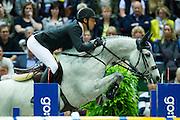 Steve Guerdat - Clair II<br /> Rolex FEI World Cup Final 2013<br /> © DigiShots