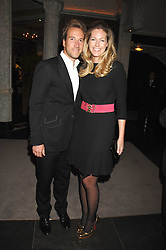 BEN & MARINA FOGLE at a party to celebrate the launch of the Astley Clarke Fine Jewellery Collection held at The Connaught hotel, London W1 on 28th February 2008.<br /><br />NON EXCLUSIVE - WORLD RIGHTS