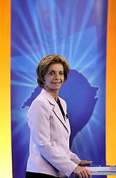A candidata ao governo do Estado do RS, Yeda Crusius durante o debate da Band, na noite desta segunda-feira. FOTO: Jefferson Bernardes/Preview.com
