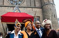 Nederland. Den Haag, 16 september 2008.<br /> Prinsjesdag.<br /> kamerleden ???, ferrier, leerdam en griffith<br /> Foto Martijn Beekman<br /> NIET VOOR PUBLIKATIE IN LANDELIJKE DAGBLADEN.