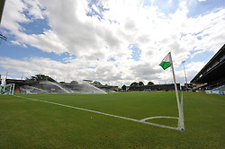 Huish Park prior to kick off  - Photo mandatory by-line: Alex James/JMP - Tel: Mobile: 07966 386802 10/08/2013 - SPORT - FOOTBALL - Huish Park - Yeovil -  Yeovil Town V Birmingham City - Sky Bet Championship
