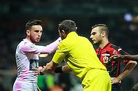Stephane LANNOY / Alexys BOSETTI - 04.04.2015 - Nice / Evian Thonon - 31eme journee de Ligue 1<br />Photo : Serge Haouzi / Icon Sport
