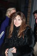DAISY BATES, Smythson Sloane St. Store opening. London. 6 February 2012.