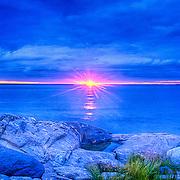 Sunset. Matinicus Island. Maine