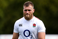 George Kruis of England - Mandatory by-line: Robbie Stephenson/JMP - 08/03/2019 - RUGBY - England - Training session ahead of Guinness Six Nations match against Italy
