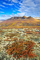 The Tombstone Mountains, Tombstone Territorial Park, Yukon, Canada