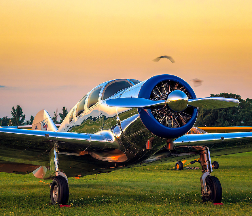 A rare Spartan Executive, photographed during AirVenture 2015 in Oshkosh, Wisconsin.