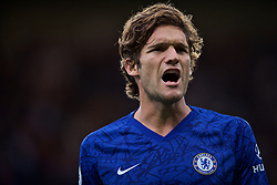 LONDON, ENGLAND - Sunday, September 22, 2019: Chelsea's Marcos Alonso during the FA Premier League match between Chelsea FC and Liverpool FC at Stamford Bridge. (Pic by David Rawcliffe/Propaganda)