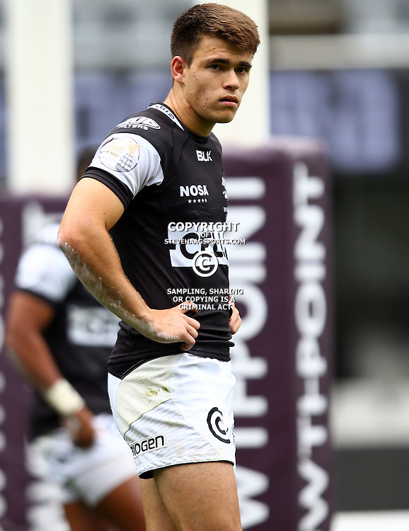 DURBAN, SOUTH AFRICA - SEPTEMBER 10: James Tedder of the Cell C Sharks Under 19's during the Currie Cup U19 match between the Sharks and Free State at Growthpoint Kings Park on September 10, 2016 in Durban, South Africa. (Photo by Steve Haag/Gallo Images)