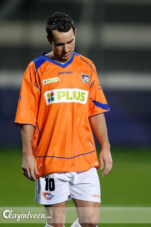 ROOSENDAAL - RBC Roosendaal - FC Emmen, Jupiler League, Seizoen 2010-2011, 04-03-2011, Mariflex Stadion, Teleurgestelde Vlatko Lazic na afloop van de wedstrijd