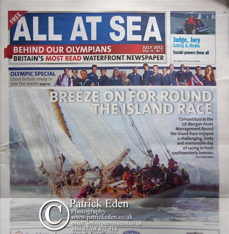 Eleanora, All at Sea, JP Morgan Round the island Race, Cowes, Isle of Wight,