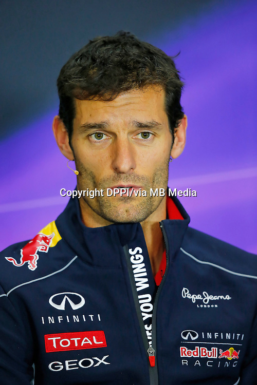 MOTORSPORT - F1 2013 - BRITISH GRAND PRIX - GRAND PRIX D'ANGLETERRE - SILVERSTONE (GBR) - 28 TO 30/06/2013 - PHOTO : ALEXANDRE GUILLAUMOT / DPPI - WEBBER MARK (AUS) - RED BULL RENAULT RB9 - AMBIANCE PORTRAIT