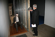 MICHAEL LANDY AND JOHN KALDOR, 'The World As A Stage' Mixed exhibition. Tate Modern. 23 October 2007. -DO NOT ARCHIVE-© Copyright Photograph by Dafydd Jones. 248 Clapham Rd. London SW9 0PZ. Tel 0207 820 0771. www.dafjones.com.