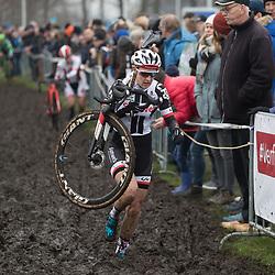 13-01-2018: Wielrennen: NK Veldrijden: Surhuisterveen<br />Lucinda Brand