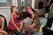 TATIANA OF GREECE; EMMA ASKARI, Party hosted for Jason Wu by Plum Sykes and Christine Al-Bader. Ladbroke Grove. London. 22 March 2011. -DO NOT ARCHIVE-© Copyright Photograph by Dafydd Jones. 248 Clapham Rd. London SW9 0PZ. Tel 0207 820 0771. www.dafjones.com.